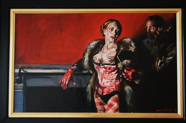 Dominatrix by Noel Bensted (That's me in the background)