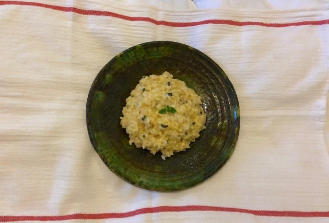 Lemon Chicken Risotto